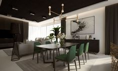 Dom w Krakowie Decor, Furniture, Conference Room, Room, Home, Dining, Dining Table, Table, Conference Room Table