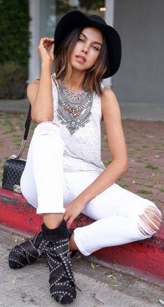 How To Style A Tee by Vivaluxury