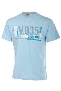 e9c537a82315 Sportovní bavlněné pánské tričko s krátkým rukávem a potiskem
