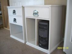 Build Your Own Office - Narrow File Drawer Base Unit (from Ana White) Diy Furniture Plans, Home Office Furniture, Kids Furniture, Building Furniture, Ana White, Easy Diy Projects, Home Projects, Cool Diy, Computer Desk Organization