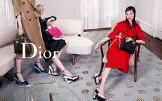The images of the new Christian Dior Fall 2014 ad campaign shot by Willy Vanderperre are snapshots of models featured in precious and fleeting moments. Dior 2014 Fall, Fall Winter 2014, Autumn, Fall Lookbook, Fashion Lookbook, Fashion Advertising, Advertising Campaign, Raf Simons, Bella Hadid