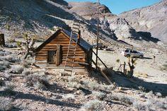 Pleasant Canyon Loop, Hidden Valley, Lost Burro Mine Ruins, Death Valley, CA