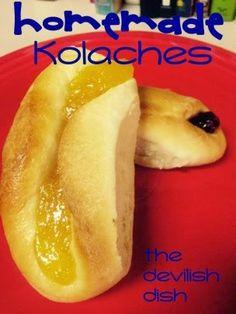 THE DEVILISH DISH: Homemade Kolaches