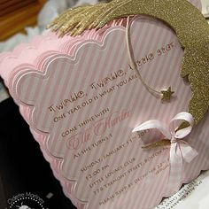Twinkle Twinkle Little Star .., These are the sweet and cute invites we designed…
