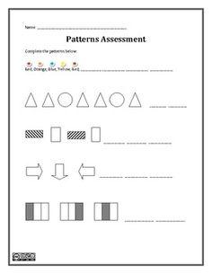 Patterns Assessment - Innovative Teacher