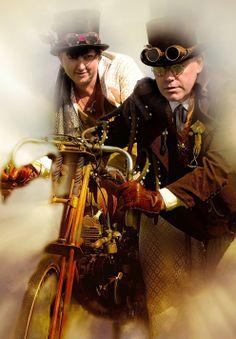 Steampunk | Travel Through Time