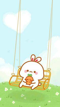 Cute Bunny Cartoon, Cute Cartoon Images, Cute Kawaii Animals, Cute Cartoon Drawings, Cute Kawaii Drawings, Cute Cartoon Wallpapers, Cute Panda Wallpaper, Cute Patterns Wallpaper, Kawaii Wallpaper