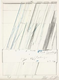 Cy Twombly, Untitled, 1973 Offset lithograph in colours, on heavy wove paper, the full sheet 29 9/10 × 18 in 76 × 45.7 cm Edition 25/150 + 5AP Estimated value: £2,000–£3,000