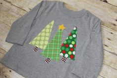 Winter Forest Christmas T Shirt by Goat & Lulu on Etsy.  perfect for boys!