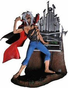 NECA 7 Inch Action Figure Iron Maiden Phantom of the Opera Eddie by NECA. $24.95. This 7-inch action figure of the iconic mascot of English heavy metal band, Iron Maiden, comes with organ accessory and features Eddie in a torn cape and cut-off blue jeans.Add some metal to the opera and you get this!; Based on the iconic artwork for Iron Maiden's classic Phantom of the Opera single; Crank up the Maiden, tune up the air guitar, and gaze in wonder at Phantom of the Opera Eddie!...