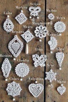 Crochet jewelry sampler