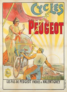 Cycles Peugeot. ca. 1896