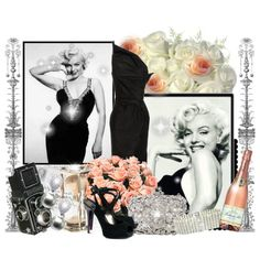 """Marilyn Monroe"" by babychi on Polyvore"