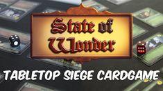 State of Wonder | Kickstarter Tabletop Siege Card Game (2018)