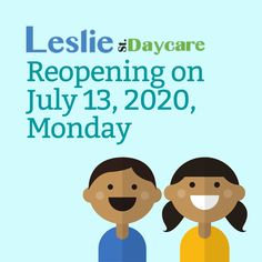 Leslie Street Daycare will be re-opening on July 13, 2020 as part of the recent directives from the Premier. If you have any questions, please call us at (905) 853-1074 or email us at lesliestreetdaycare@gmail.com. Childcare, Family Guy, Learning, Street, Parenting, Roads, Study, Teaching, Studying
