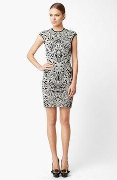 Gorgeous. Alexander McQueen  Intarsia Dress.