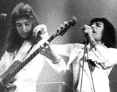 John Deacon & Freddie Mercury