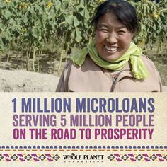 Whole Planet Foundation's 2015 Prosperity Campaign launches today! Let's raise $5 Million to alleviate poverty around the world!    #microfinance #wholefoods #nonprofit #dogood #fundraising