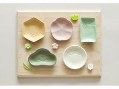 Pettit plate set symbolizing longevity.
