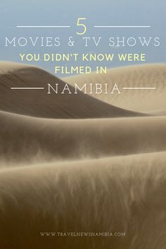 5 Movies and TV shows you didn't know were filmed in Namibia Namib Desert, Open Spaces, Mad Max, Filming Locations, Movies And Tv Shows, Movie Tv, Africa, Landscape, Country