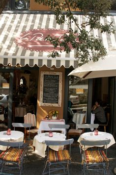 exterior + outdoor tables of le petite tarte, cape town, south africa Coffee Shops Cape Town, Les Continents, Coffee Places, Cafe Bistro, Cape Town South Africa, Cafe Design, Africa Travel, Beautiful Places, Around The Worlds