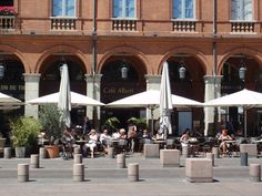 Café Albert on Place du Capitole, Toulouse