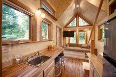 Tiny House - Kerry Alexander - Hope Island Cottages - Washington - Kitchen - Humble Homes