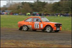 https://flic.kr/p/bJQzAa | #20 George & Jaqueline Bryson | Charterhall Rally Stages