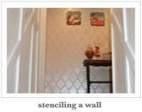 Tutorial on how to stencil a wall