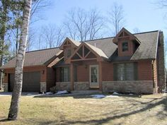 MLS # 148266 - A quiet get-a-way home on Tom Doyle Lake. Nearly new four season vacation home or primary residence located just a few minutes from Minocqua & Rhinelander. This home is in spotless, mint condition and ready to move into.