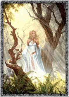 Eir-  She is the goddess of healing and resurrection. Her healing power is still being taken into account in today's world. It represents the particular pattern of those who work with any form of health or healing power. Those who wish to obtain their favors, to cure themselves, must invite her.  #MysticHistory
