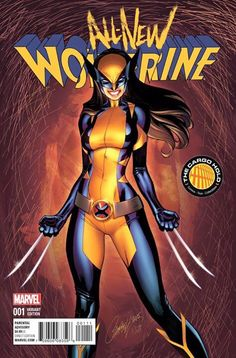 All New Wolverine #1 The Cargo Hold Variant Cover by J. Scott Campbell
