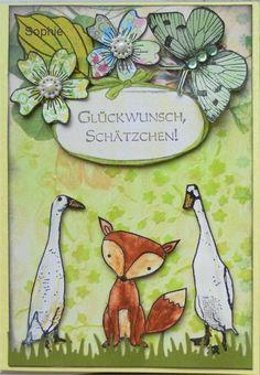 Sophie's Art: Glückwunsch, Schätzchen  :-)
