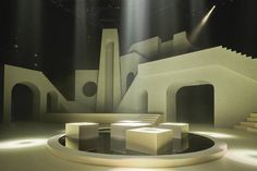 WP&A was formed organically through a series of collaborative works by Willo Perron and Brian Roettinger. Stage Set Design, Set Design Theatre, Contemporary Architecture, Architecture Design, Contemporary Art, Artistic Installation, Scenic Design, Environment Design, Shop Interior Design