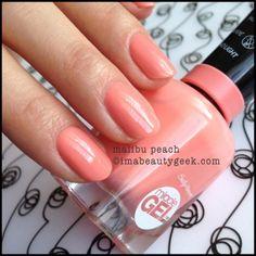 Sally Hansen Malibu Peach Miracle Gel - peachy coral creme