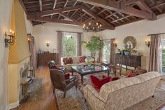 Stunning original Malibu tiles and hand painted tiles in bathrooms. Outdoor kitchen with great space for entertaining including outdoor fireplace area. Separate guest room/office. Lower level of garden has area for play equipment/basketball area. Room for a pool. Very private. http://susansmithrealty.com/