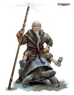 Pathfinder: Herald Of Irori by *Mikeypetrov on deviantART