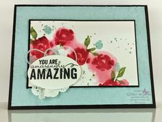 Stampin' Up!   --  Painted Petals