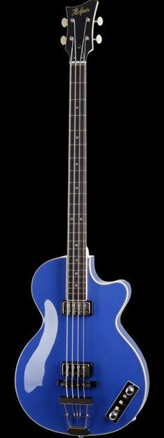 HOFNER  Berlin Club Bass Royal Blue  How beautiful is this Berlin Club, Ukulele Stand, I Love Bass, Jaco Pastorius, All About That Bass, Bass Amps, Double Bass, Bass Guitars, Ibanez