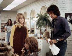 Goldie Hawn and Warren Beatty in Shampoo (1975)