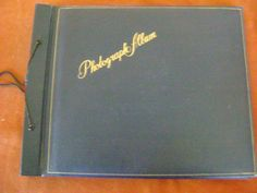 Vintage Photograph Album for Old Snapshots or Postcards 27 two sided pages | eBay