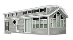 New 2018 Kropf Industries Island Series 4613 Park Models Park Model Rv, Park Model Homes, Kropf, Tiny House Living, Cabins In The Woods, House Floor Plans, Living Spaces, Tiny Homes, House Design