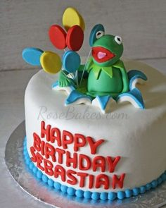 Kermit the Frog Cake