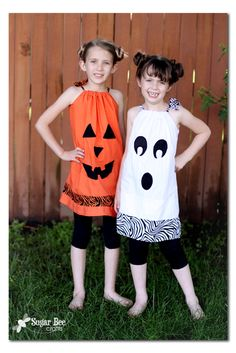 Sugar Bee Crafts: Halloween Dresses