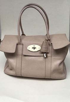 Authentic MULBERRY large BAYSWATER blush pink leather  FREE P P   Mulberry e8a2712182424