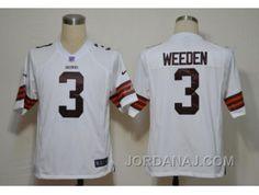 http://www.jordanaj.com/nike-nfl-cleveland-browns-3-weeden-white-game-jerseys.html NIKE NFL CLEVELAND BROWNS #3 WEEDEN  WHITE GAME JERSEYS Only $23.00 , Free Shipping!