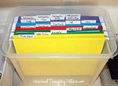 Organizing Paperwork for Dummies! :-)