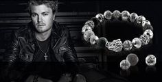 Nico Rosberg, the new face of the Thomas Sabo Rebel at Heart Collection Nico Rosberg, Thomas Sabo, Mens Jewellery, Jewelry, Karma, Beads, Rebel, Face, Charmed