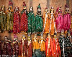 """Puppets """"Kathputli"""", Rajasthan, India"""