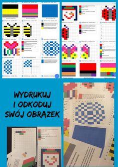 Odkoduj obrazek...dyktanda graficzne inaczej ~ Oswajamy Programowanie